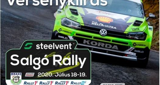 Steelvent Salgó Rally 2020.07.18-19.