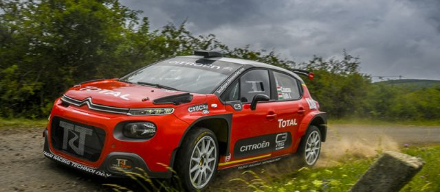 Salgótarjánban végre elrajtolhat Csucsu a Citroën C3 R5-el!