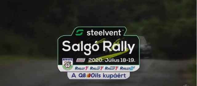 Steelvent Salgó Rally 2020