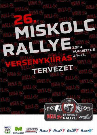 26.HELL Miskolc Rally 2020.08.14-15. – Versenykiírás