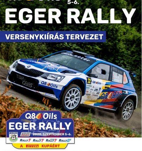 Eger Rally versenykiírás és információk