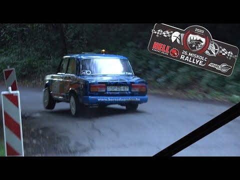 26. HELL Miskolc Rallye 2020 – ofonrallyvideo