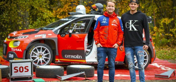 Mads Østberggel tesztelt Csucsu a Rally Hungary ERC futamra